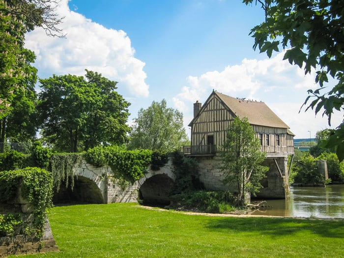 Le vieux moulin, rando à Vernonnet