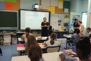 Photo d'une classe d'école