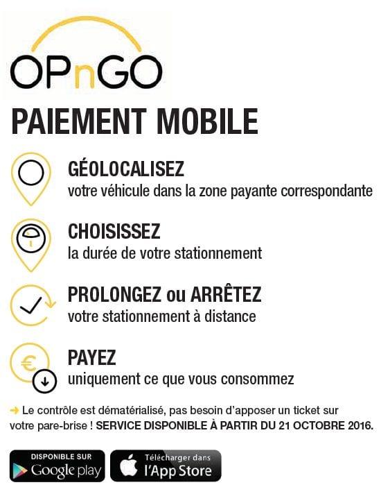 OPnGo l'appli qui vous permet de gérer votre stationnement depuis votre mobile !