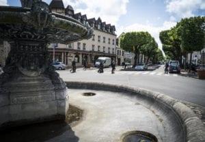 fontaine place de Paris à Vernon crédit : Sylvain Bachelot