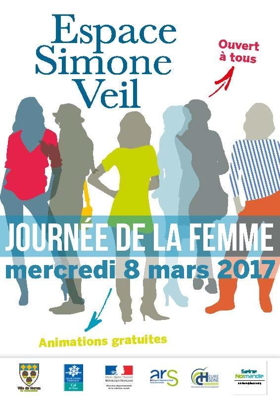 Journée de la Femme à Vernon Espace Simone Veil