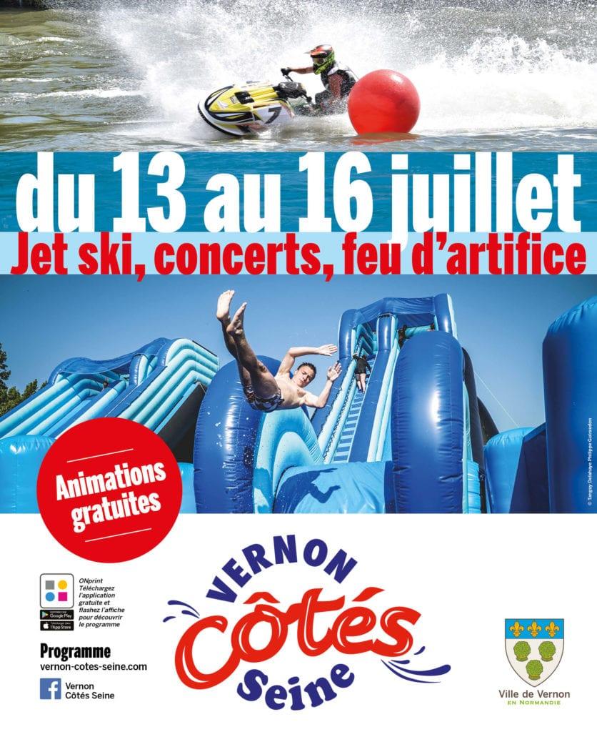 Affiche Vernon Côtés Seine 2017