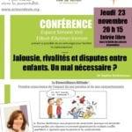 Affiche conférence association Acteurs de vie