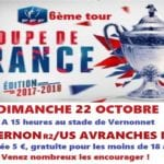 Affiche match 22 octobre