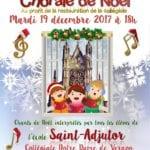 affiche chorale saint-adjutor