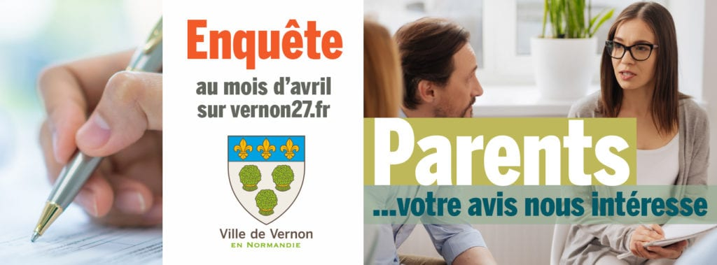Enquête parents Vernon