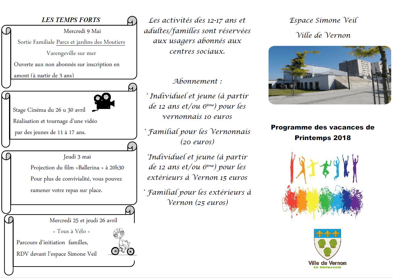 programme simone veil 2