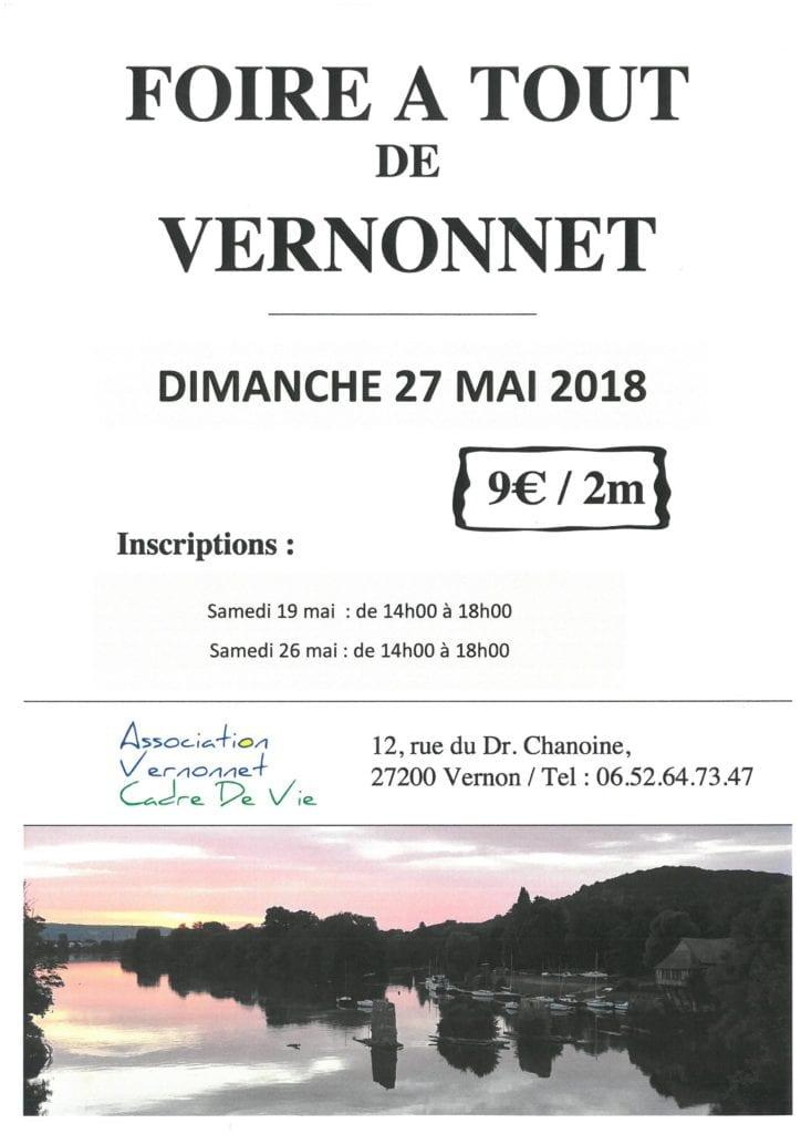 Foire à Tout Vernonnet 2018