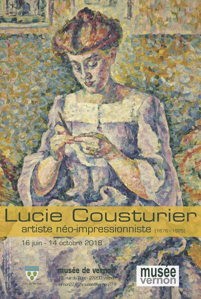Lucie Cousturier exposition Musée de Vernon