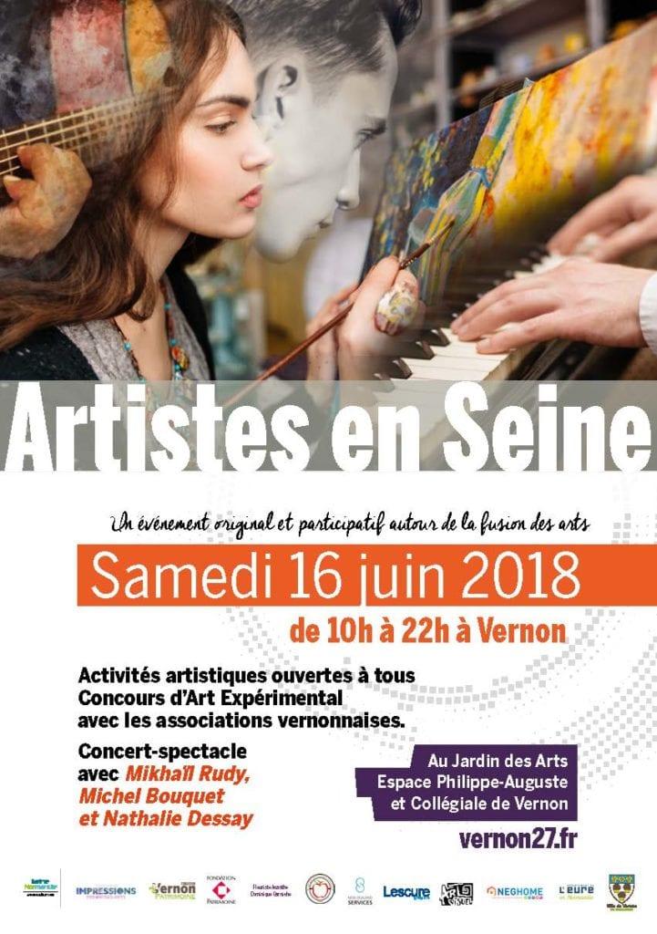 Artistes en Seine Vernon juin 2018