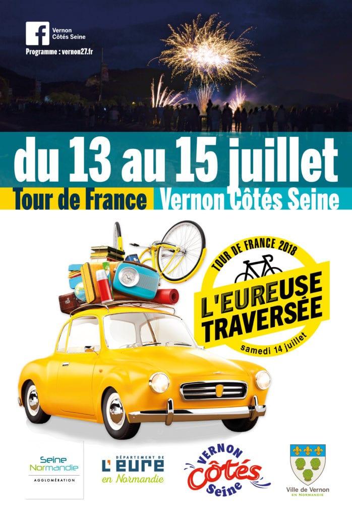Vernon Côtés Seine et le Tour de France Vernon 2018