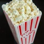 photo de popcorn
