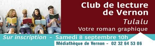 banderole club de lecture