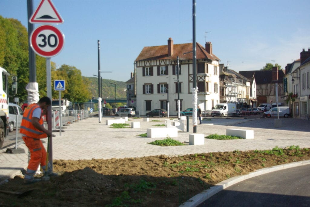 Travaux Boulevard Urbain