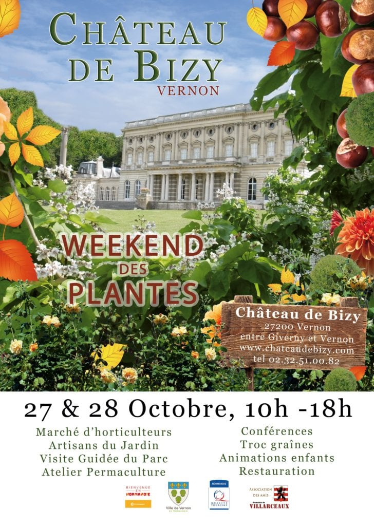 affiche week-end des plantes