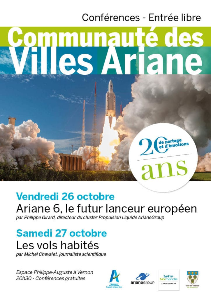 20 ans Villes Ariane Vernon