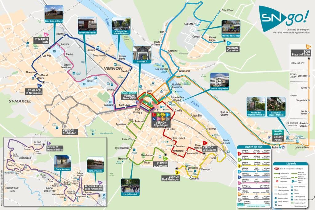 Plan bus SNGo Vernon