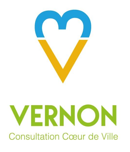 Logo consultation coeur de ville Vernon