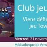 banderole club jeux vidéo