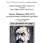 Conférence CEV affiche