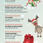 Affiche animations noel