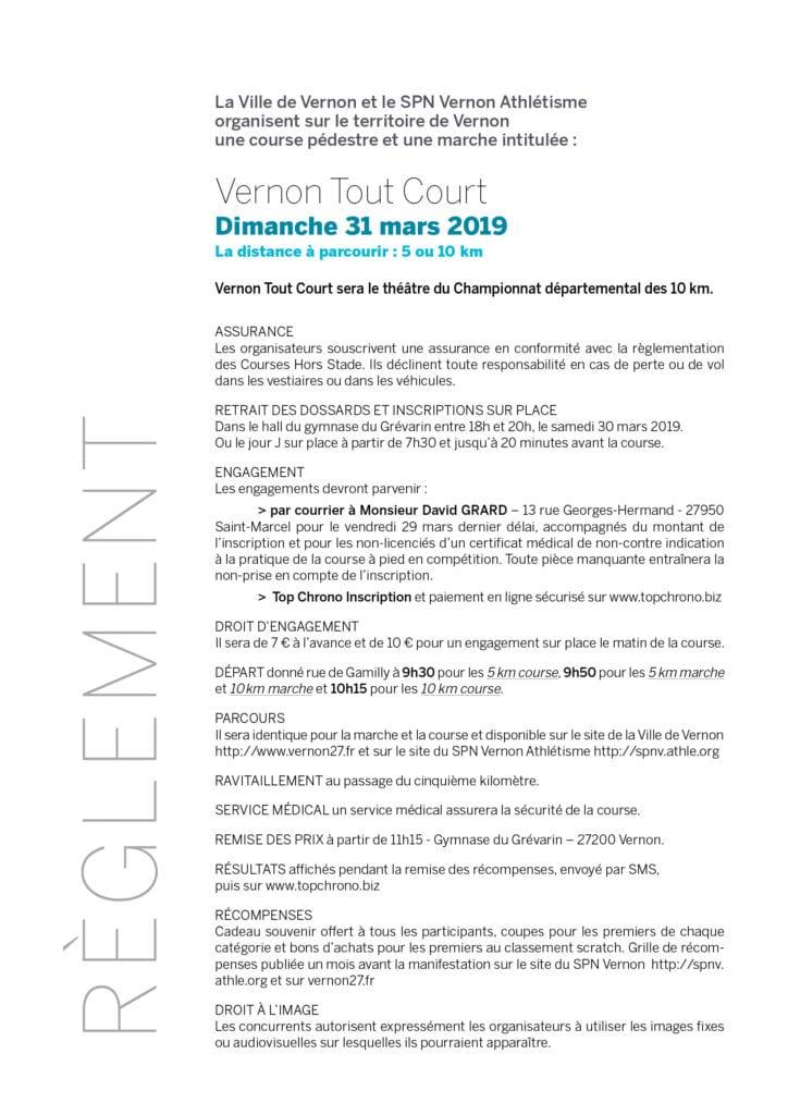 Vernon Tout Court 2019