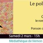 banderole conférence littéraire