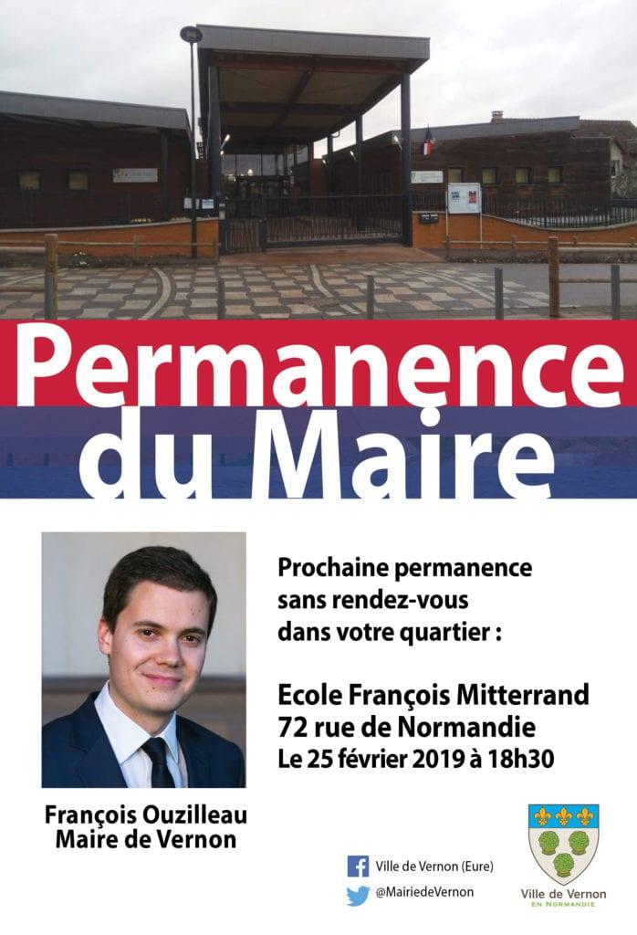 Permanence du maire