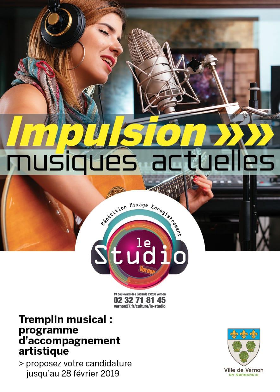 Concours Impulsion musiques actuelles Le Studio de Vernon