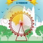 Du 30 mars au 19 mai découvrez Vernon sous un autre angle, en embarquant pour un tour de Grande Roue et profitez de la vue…