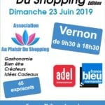 affiche salon du shopping