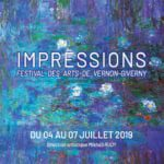 festival Impressions Vernon Giverny juillet 2019