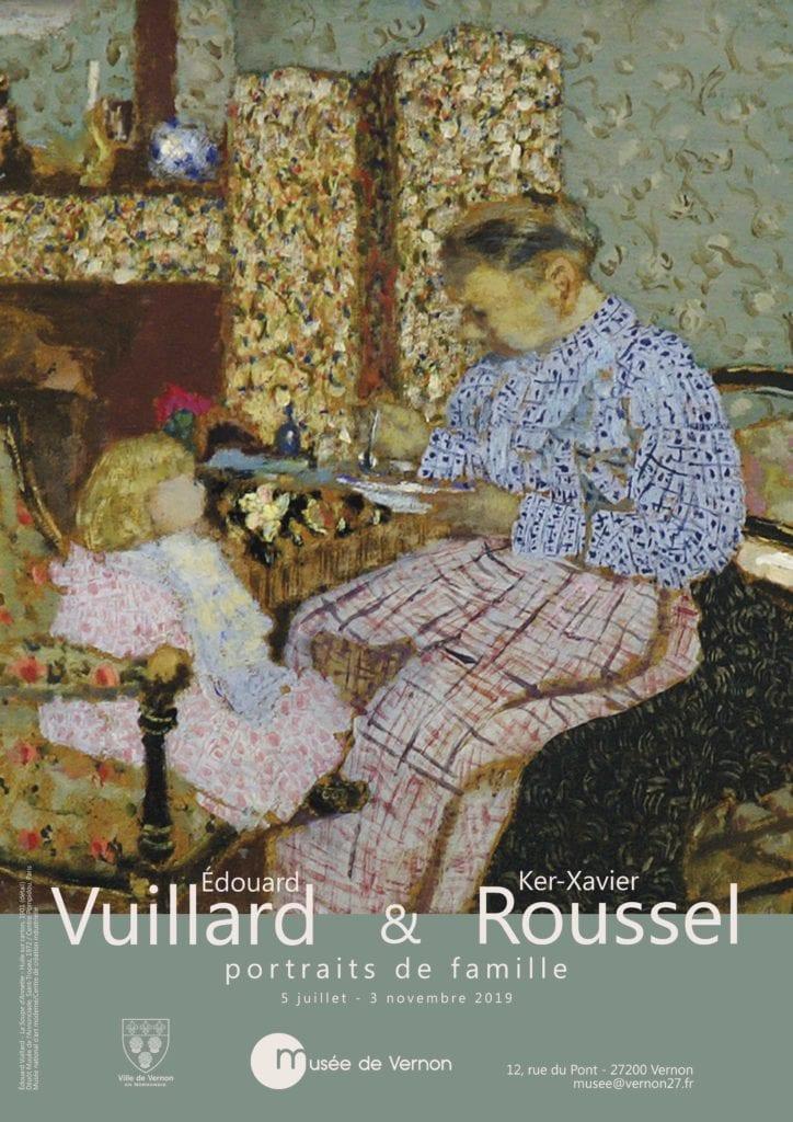 Du 5 juillet au 3 novembre 2019 au musée de Vernon : Édouard Vuillard et Ker-Xavier Roussel : portraits de famille