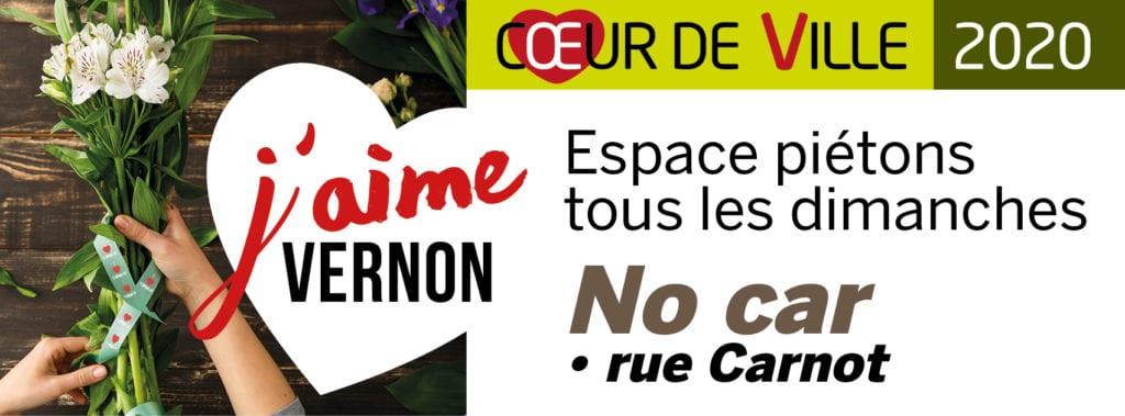 No Car rue Carnot Vernon