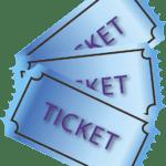 tickets de théatre