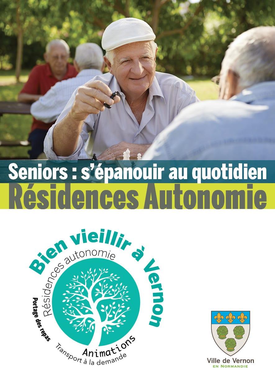 Livret résidences autonomie senior vernon