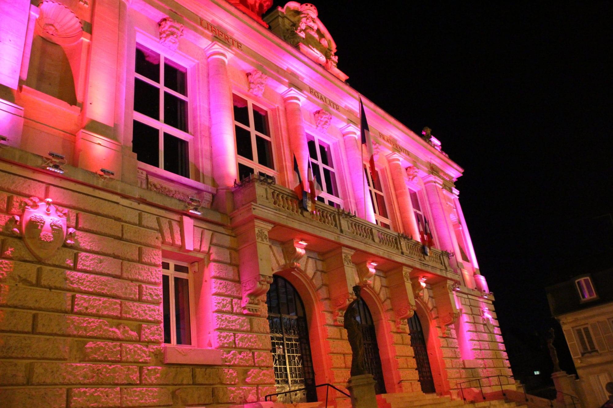 Octobre rose hôtel de ville