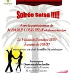 Soirée salsa centre social pénitents vernon vernonnet