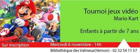Tournoi mario kart-novembre