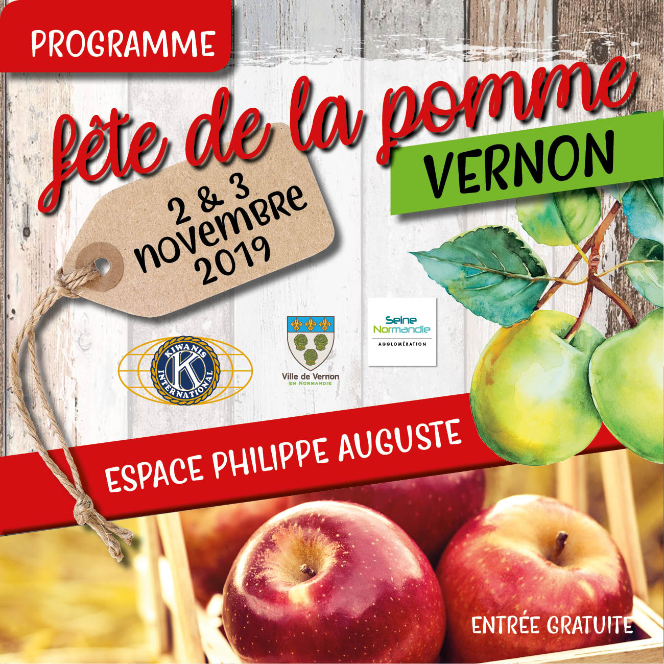 fête de la pomme vernon 2019