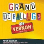 Affiche grand déballage 2020 vernon